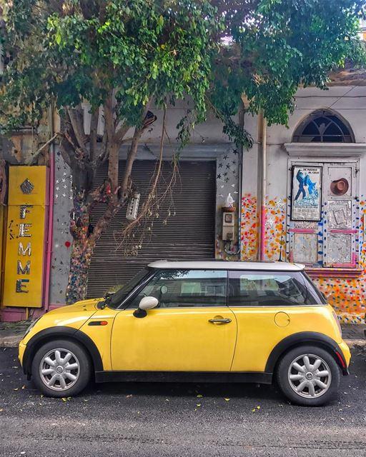 Good morning charming Beirut! 💛 ... (Beirut, Lebanon)