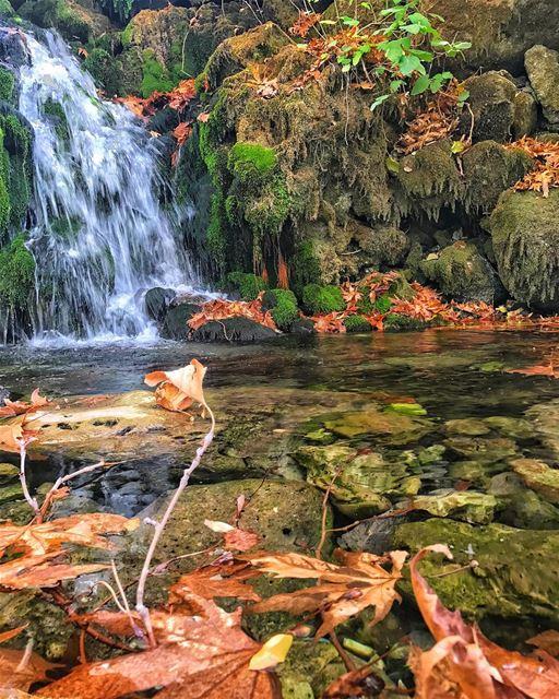 Chasing waterfalls 💦🍀 ... (Akoura, Mont-Liban, Lebanon)