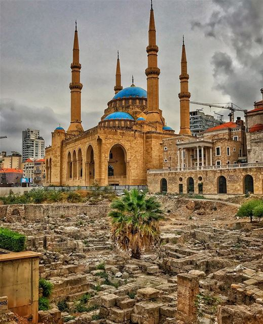 This charming city of mine was destroyed and rebuilt 7 times!! ❤️🌲❤️ ... (Downtown, Beirut, Lebanon)