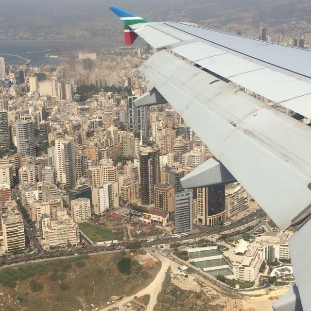 Just landed in Beirut! What an amazing feeling ❤️ BySaraElDana ... (Matar Rafic Al Hariri)