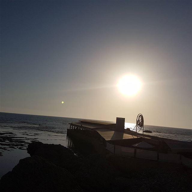 sunset byblos seasun sunsea @livelovebeirut @wearelebanon @whatsupleban (Jbeil Mina)