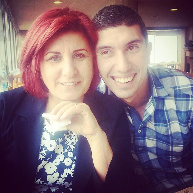 ♥ family  mom  bro  lunch  lovethem  happy  familytime  smiles  byblos ...