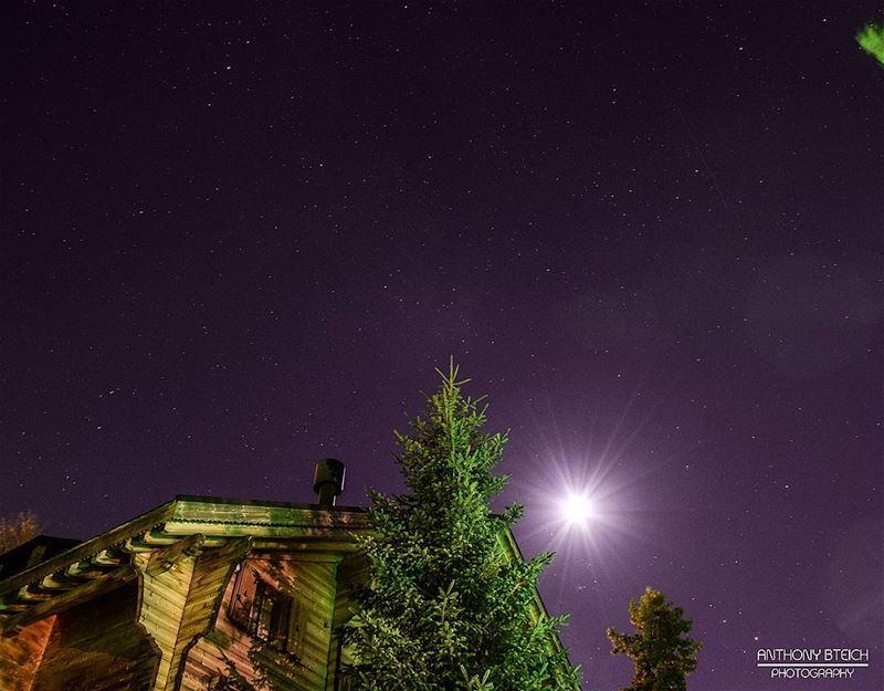 A sky full of stars ✨ (Faraya, Mont-Liban, Lebanon)