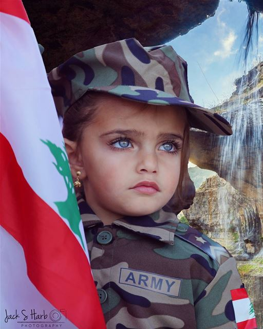 This brat has more courage than most people will ever muster in a... (Tannourine)