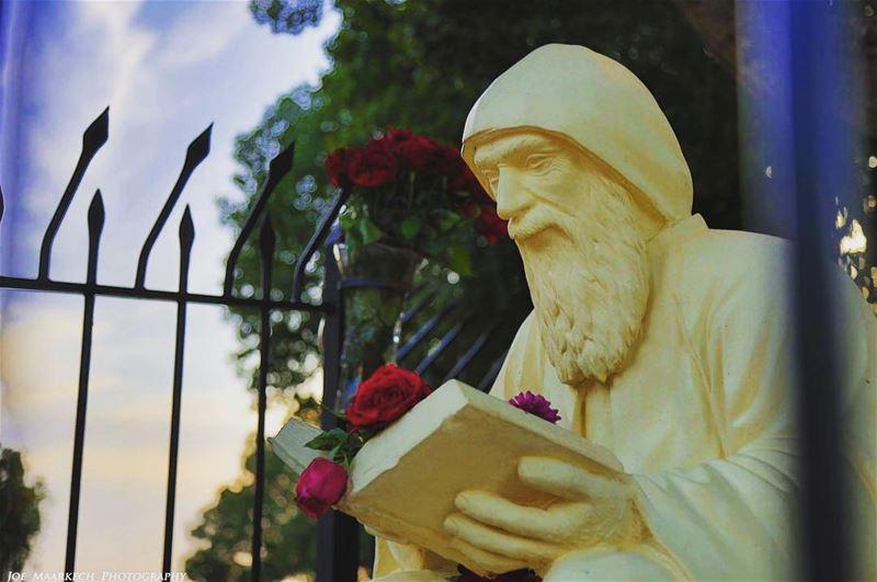 Saint Charbel❤️ saintcharbel stcharbel marcharbel lebanon ... (Saint Charbel Annaya)