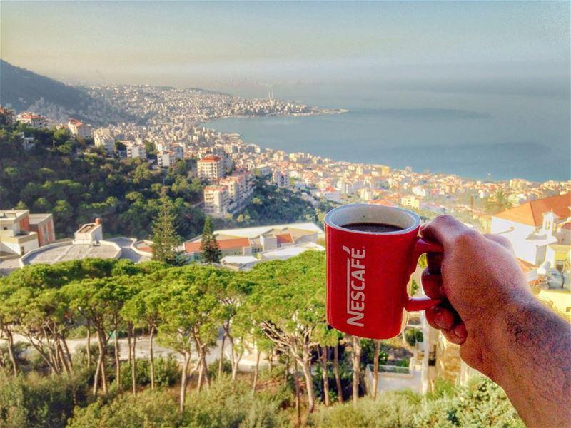 Saba7o, goodmorning, bonjour, buenos dias, Բարի առավոտ, goedemorgen,... (Ghazir, Mont-Liban, Lebanon)