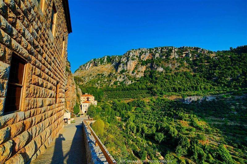 Valley Of Saints ( quannoubin valley ), St Antonios Monastery, Lebanon. ... (Mar Antonios-Kozhaya)