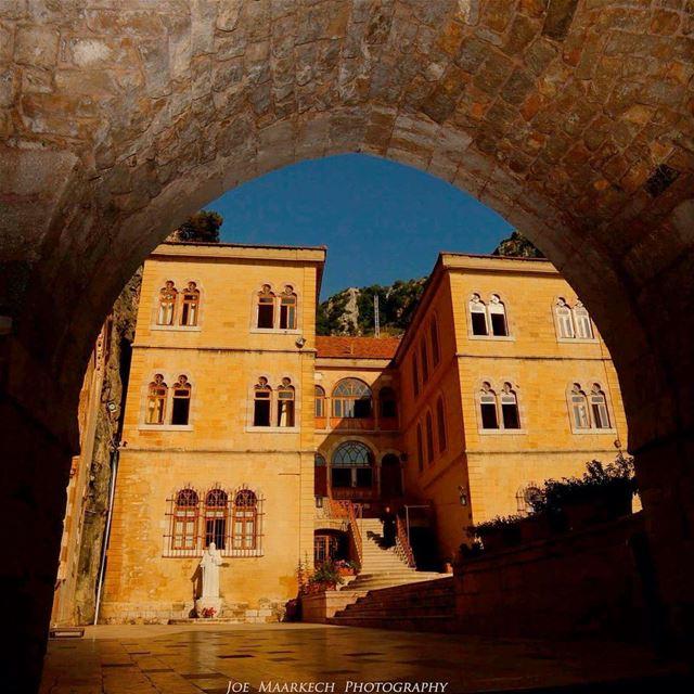 The entrance of St Antonios Monastery. Kozhaya, Lebanon. lebanon kozhaya... (Mar Antonios-Kozhaya)