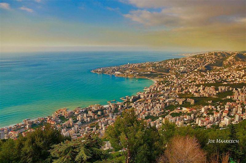 Jounieh bay from Harissa. Keserwan, Lebanon. lebanon jounieh harissa ... (Jounieh City - Lebanon)