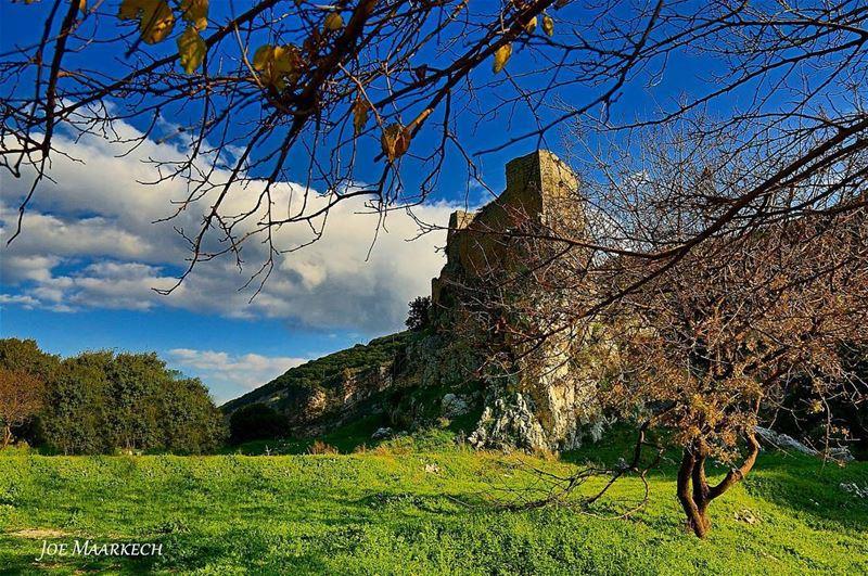 El msaylha castle. Batroun, Lebanon. ptk_nature ptk_lebanon ...