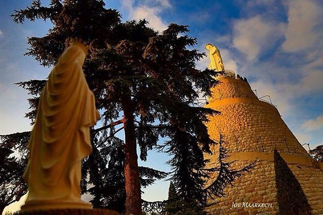 Our Lady of Lebanon, Notre Dame du Liban, سيدة لبنان, Harissa.  lebanon ...