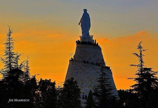 Our Lady of Lebanon, Notre Dame du Liban, سيّدة لبنان. lebanon liban لبن