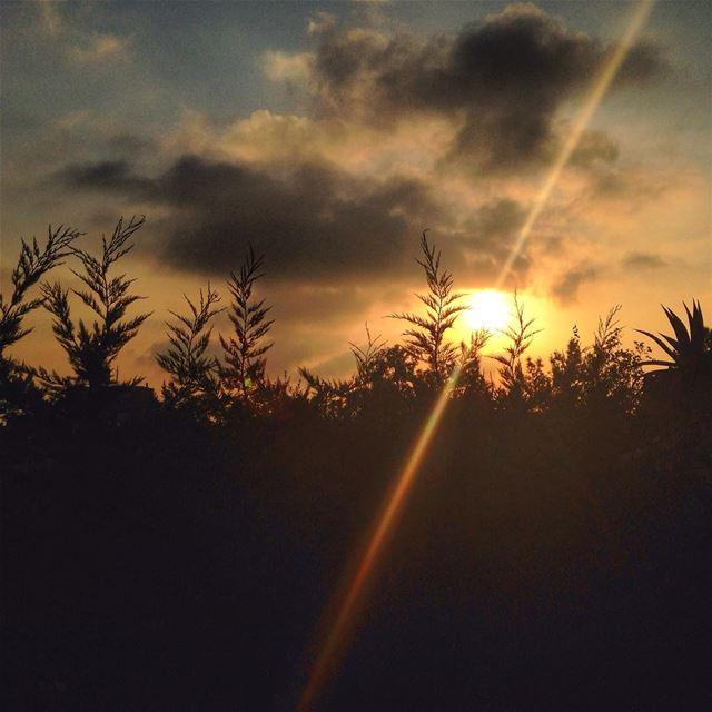 Ballouneh, Lebanon! lebanon ballouneh sun sunset cloud clouds ...