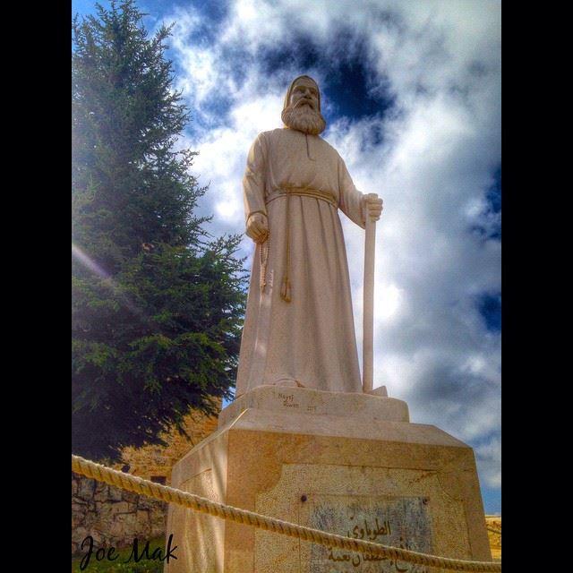 Br. Estephan Nehme, kfifen, batroun kfifen batroun lebanon sun clouds... (Kfifan, Liban-Nord, Lebanon)