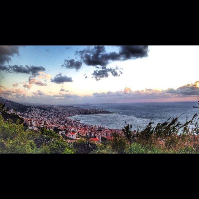 Lebanon whatsuplebanon beauty jounieh sea clouds sun ...