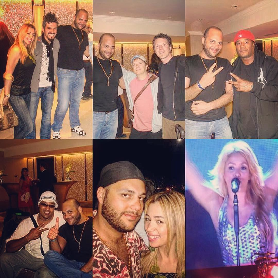 Shakira's team in Beirut . Throwback to a marvelous performance from ...
