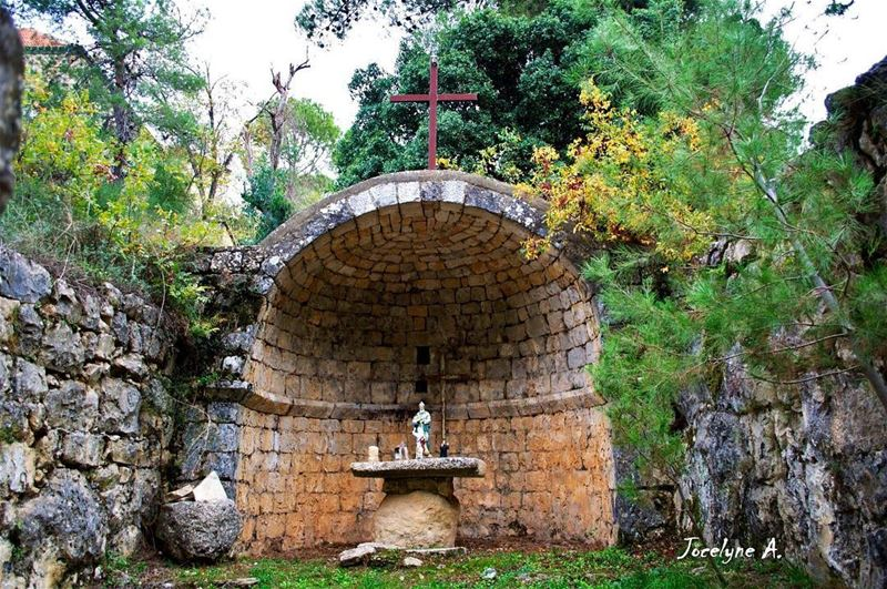 St. Elie church @livelovehardine  livelovehardine  church  found  amazing ... (Hardîne, Liban-Nord, Lebanon)