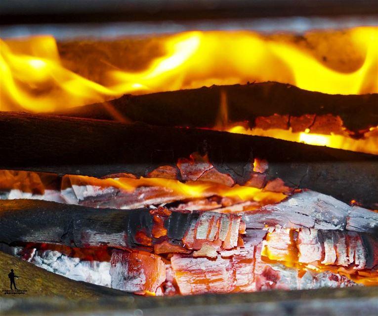 Cold Weather ❆ ☂ cold fire villegelife chouf jbaa lebanon...
