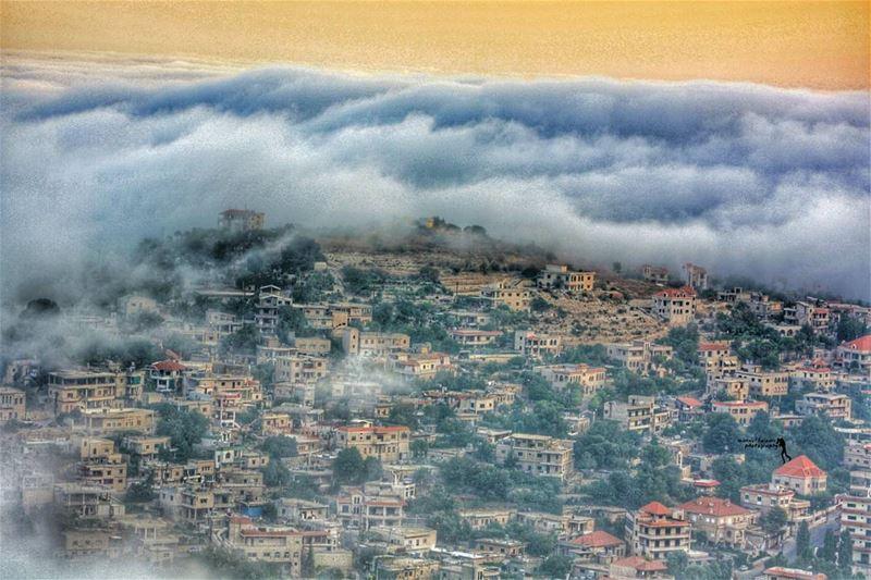 niha chouf liveloveniha clouds bestview houses goodnight ...