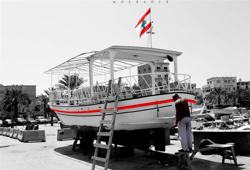 • W O R K .... for Good life • lebanon citylife tyrecity tyre my🌍 ... (Al Mina Sour)