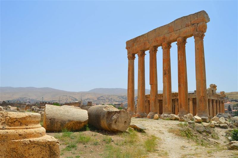 Good afternoon dear followers with this amazing viewPhoto taken by @place (Baalbek, Lebanon)