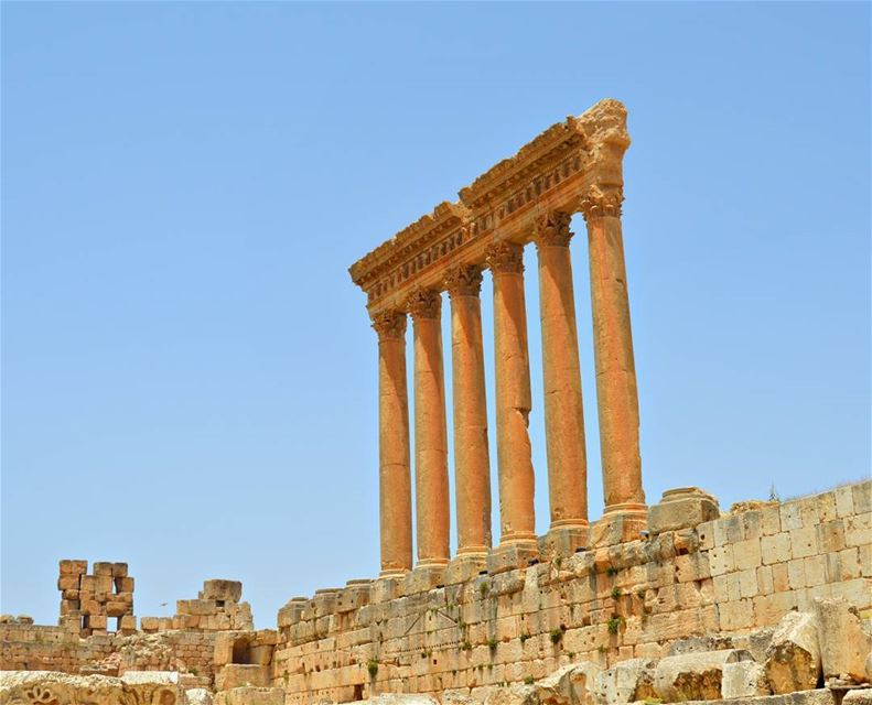 Good morning dear followers with this amazing viewPhoto taken by group... (Baalbek, Lebanon)