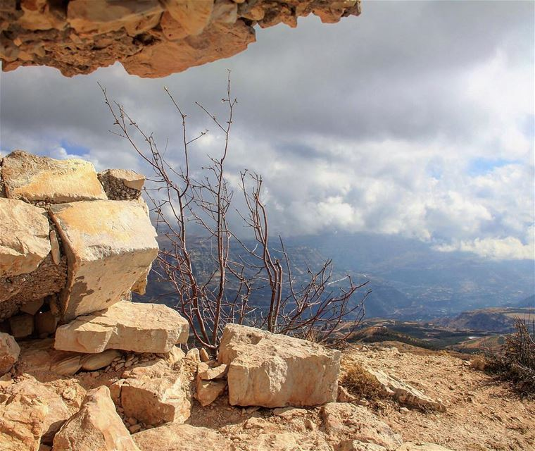 There are ways to face your fears, roads full of hard rocks taking you to... (Laklouk - Lebanon)