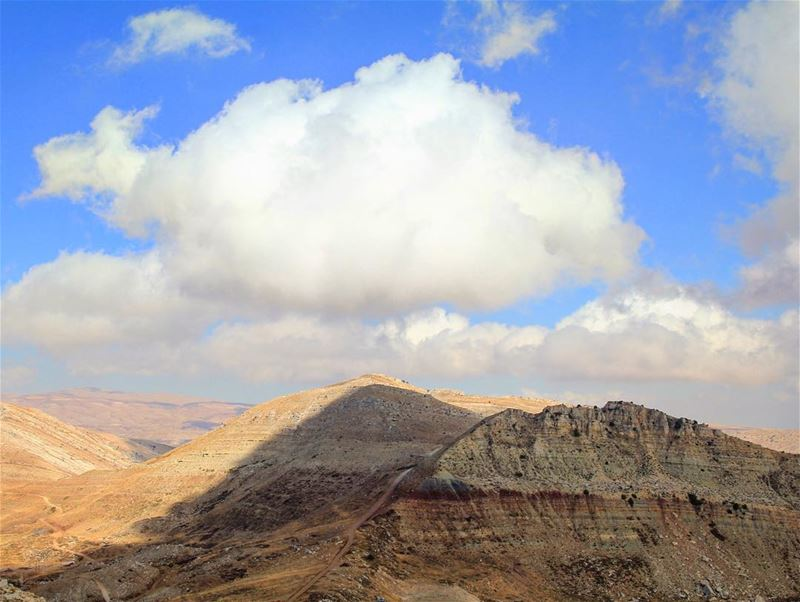 As light as a cloud can be, covering the greatness of the mountains..... (Laklouk - Lebanon)