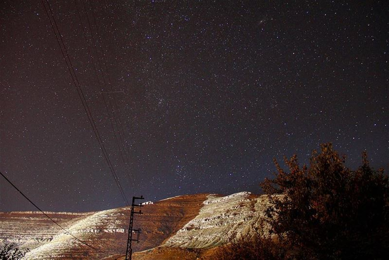 I'll tell you, we can not delay. The stars call us forward... star ... (Ehden, Lebanon)