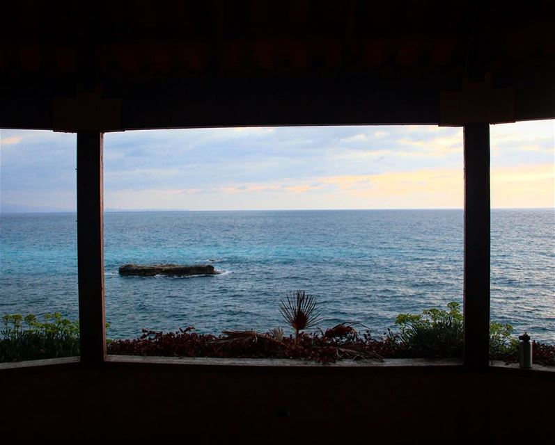 A framed view can be unlimited.. view seascape frame sea sealovers ... (Amchit)
