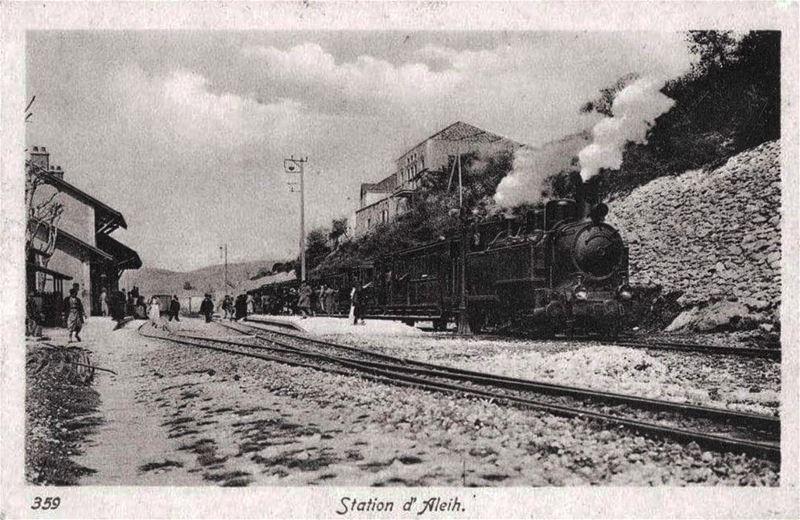 Aley Train Station 🚂 1910