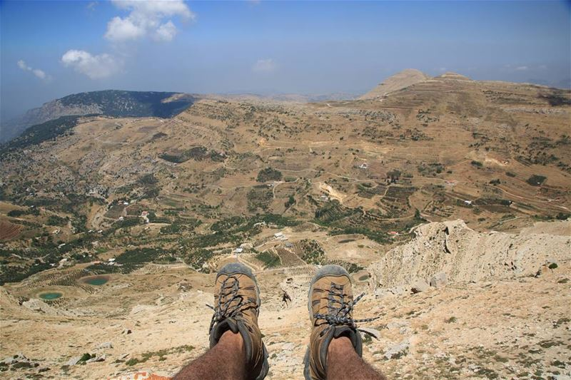 Sometimes all you need is twenty seconds of insane courage. tannourine ... (Tannourine Summit rush)