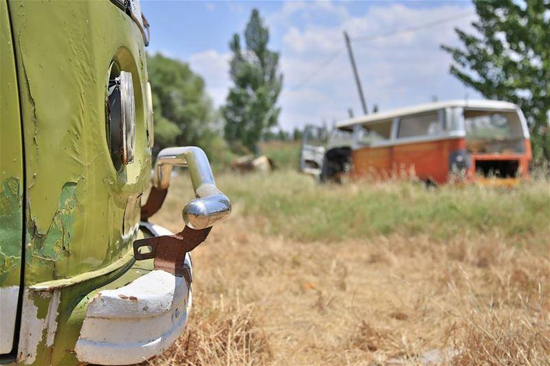 Blast from the past. volkswagen car lebanon bekaa livelovelebanon ... (Chtaura)
