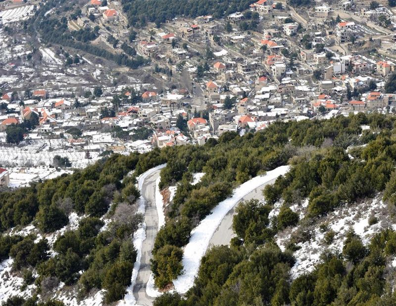 The other side of maaser chouf...choufbiospherereserve..  lebanonshots ...