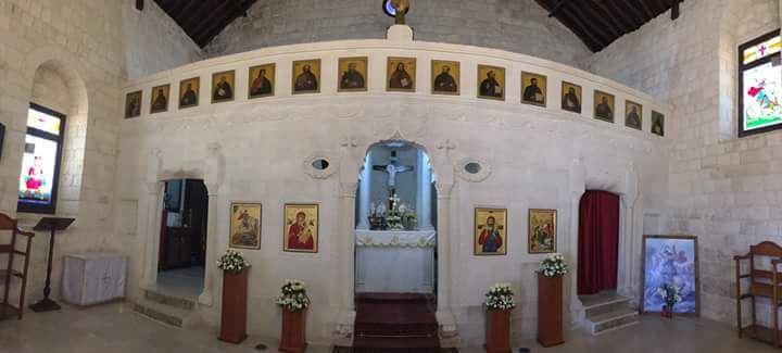 كانت وستبقى الرسالة للعالم (Yaroun Church from Inside)
