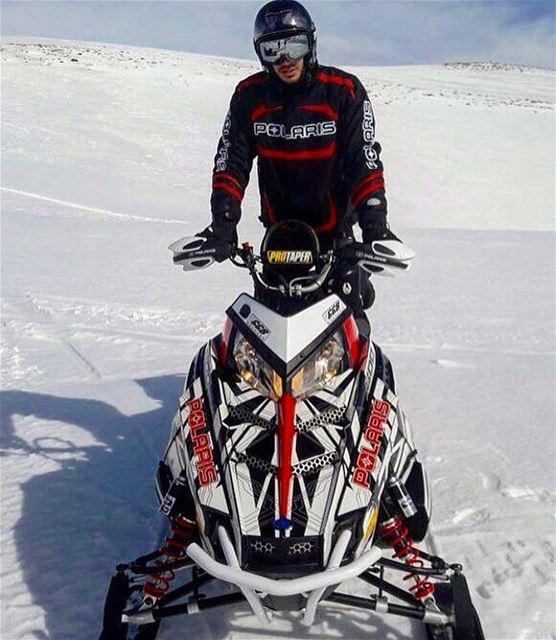 Geared Up ! @eliesabounader polaris fxr polarisrider polarislebanon ...