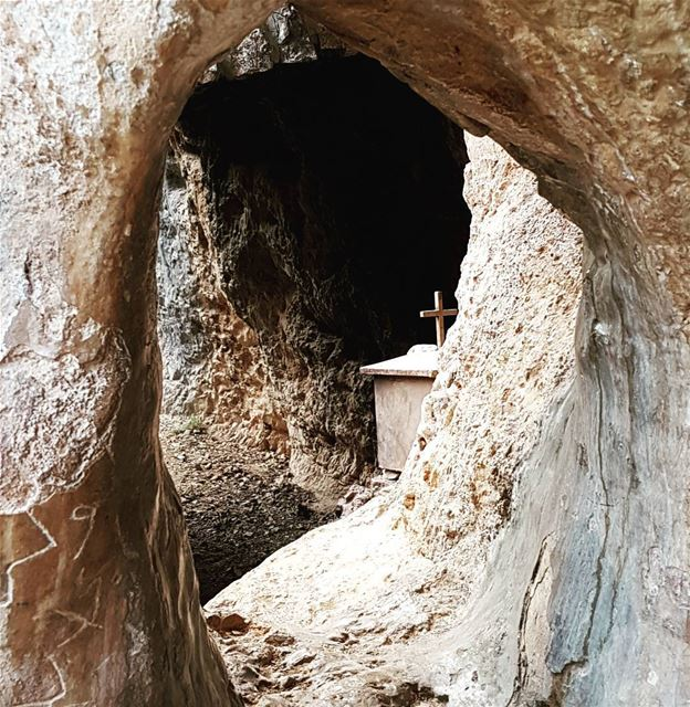 Hike to Mar Mtanios in Sakiyet el Kheit and discover the many caves carved... (Jbeil District)