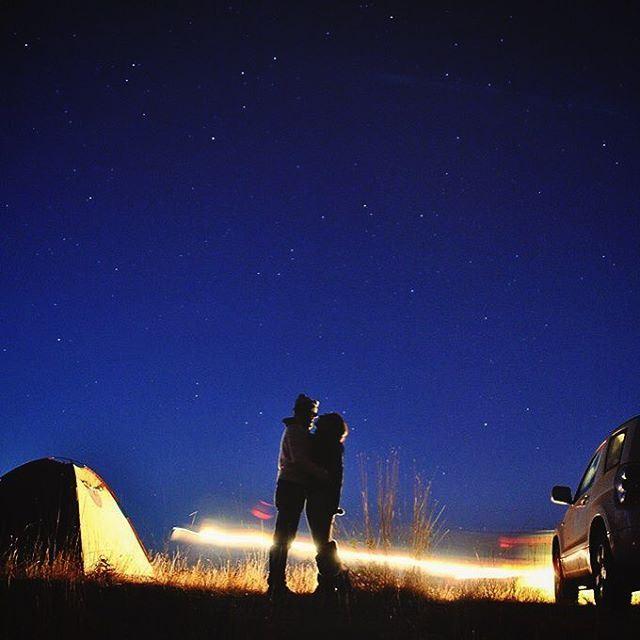 Love me under the stars.•••••••••••••••••• star shootingstar ... (Qartaba)