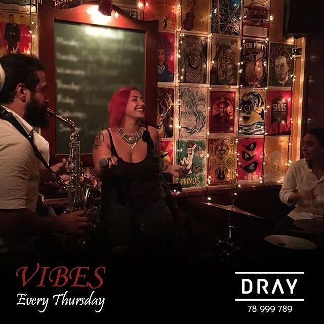 "Tonight and Every Thursday, DRAY brings to you ""VIBES"" band, pleasuring..."