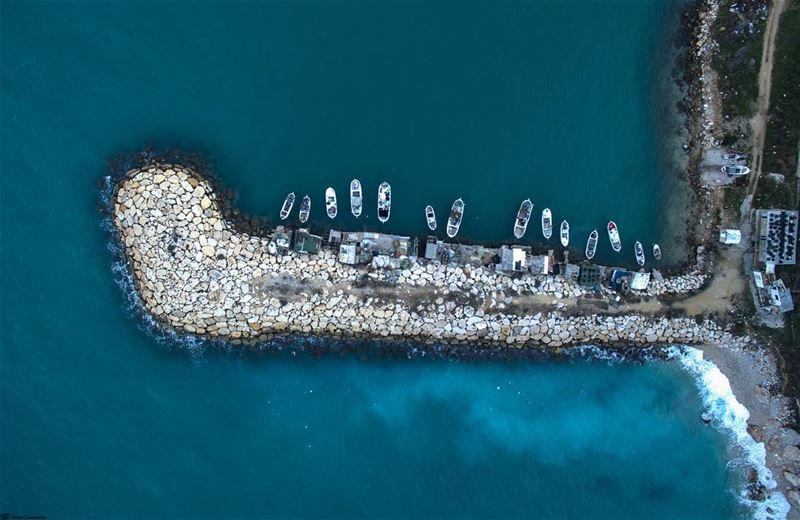 Mini harbour tiny boats 🚤⛵️ livelovelebanon ptk_lebanon ig_lebanon ...