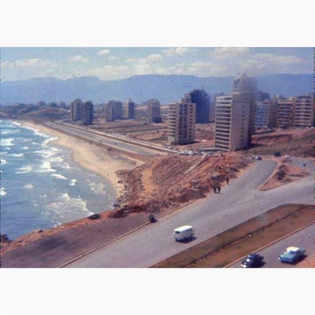 بيروت الرملة البيضاء عام ١٩٦٩