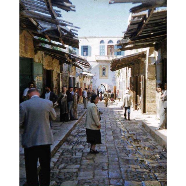 جبيل عام ١٩٥٠ ،Byblos in 1950