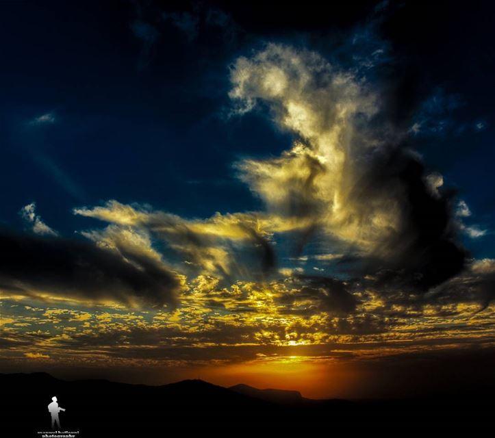 sunset🌅 ig_sunset colors paradise chouf jbaa lebanon...