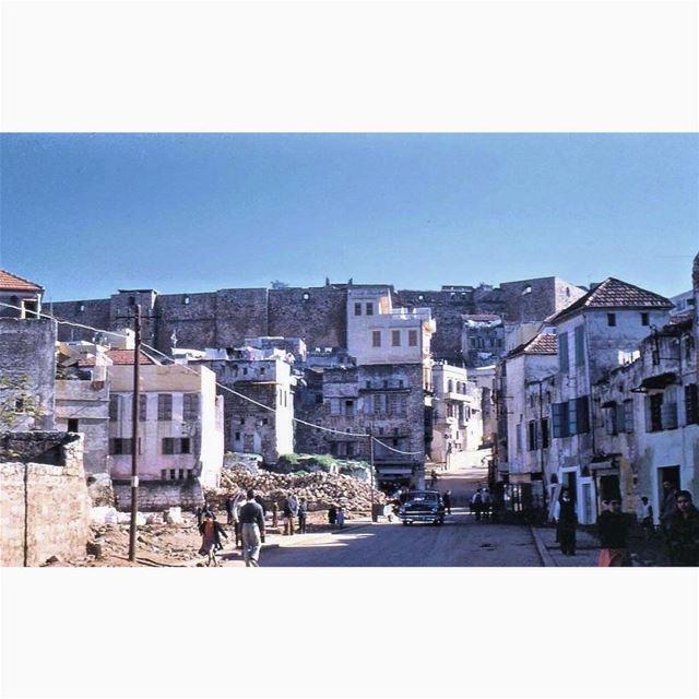 طرابلس القلعة عام ١٩٥٦