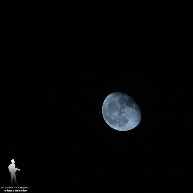 ....وأيام بتمحي أيام  moon night  moon🌙  fullmoon  greatshot  chouf...