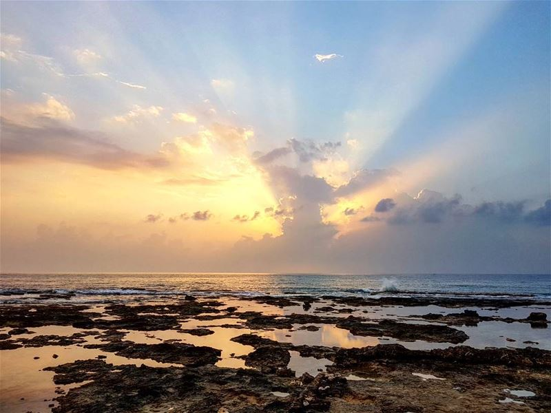 IsSun. love sunset sea clolonel batroun instalebanon ... (Colonel Beer Brewery)
