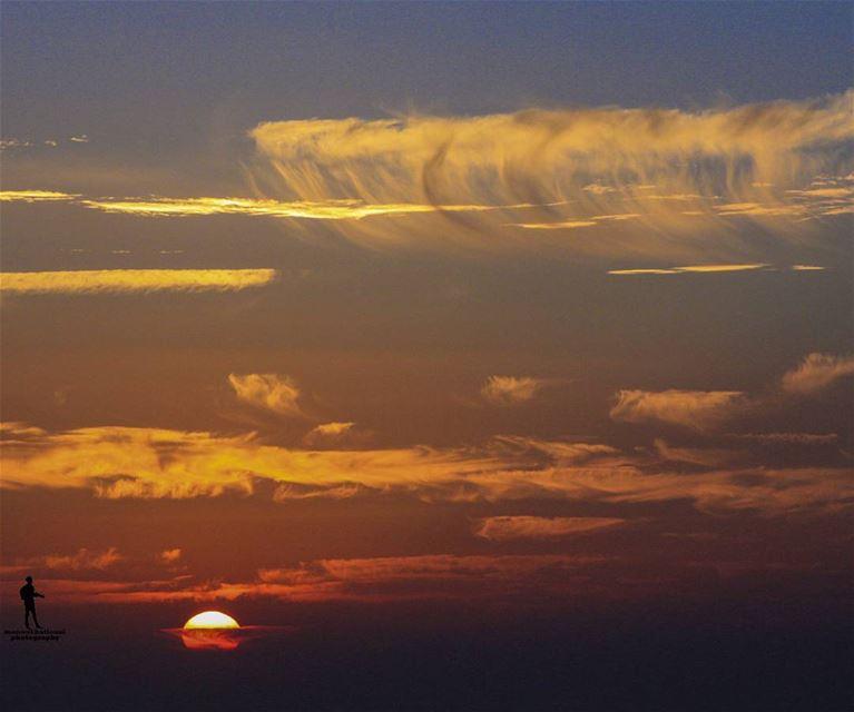 sunset🌅 sky creativecloud lovelysky sky☁ chouf jbaa lebanon...