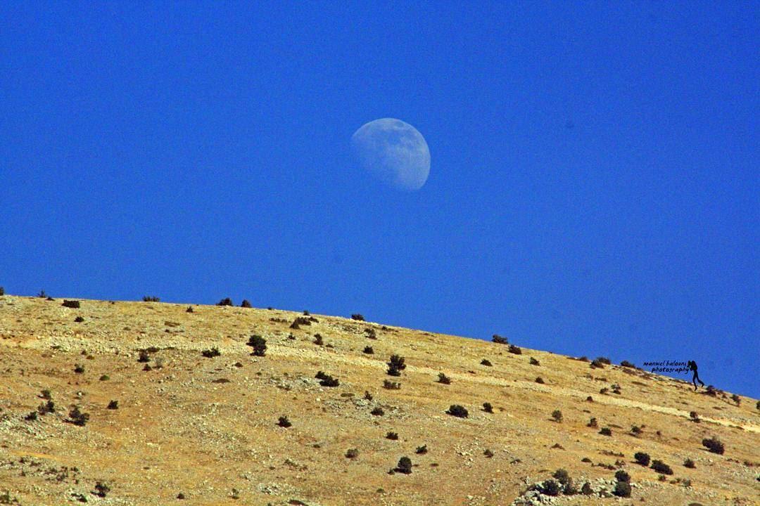 moon mountain bluesky lebanonspotlights livelovechouf jbaa...