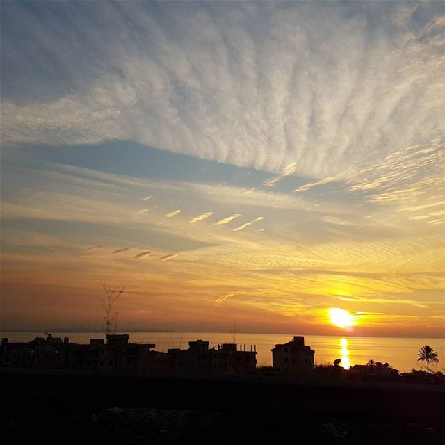 One of these amazing sunsets on the coast of tabarja ! tourleb ... (Tabarja)