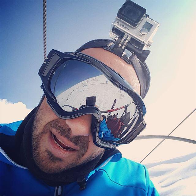 skiing mzaar gopro ... (Mzaar Kfardebian)